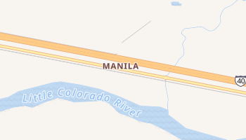 Manila, Arizona map