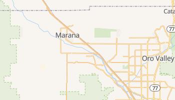 Marana, Arizona map