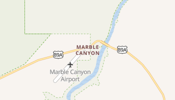 Marble Canyon, Arizona map