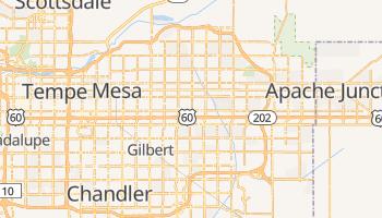 Mesa, Arizona map