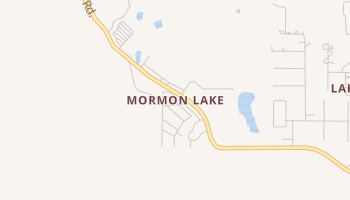 Mormon Lake, Arizona map