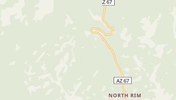 North Rim, Arizona map