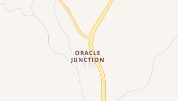 Oracle Junction, Arizona map