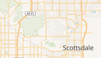 Paradise Valley, Arizona map