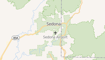 Sedona, Arizona map