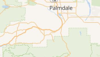 Acton, California map