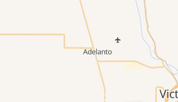 Adelanto, California map
