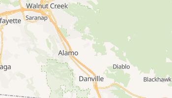 Alamo, California map