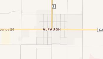 Alpaugh, California map