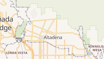 Altadena, California map