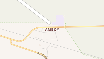 Amboy, California map
