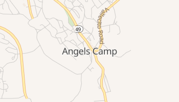Angels Camp, California map
