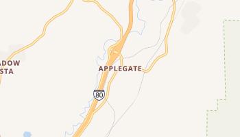 Applegate, California map