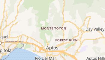 Aptos, California map