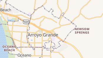 Arroyo Grande, California map