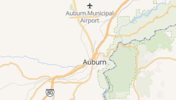 Auburn, California map
