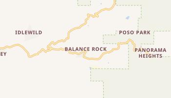 Balance Rock, California map