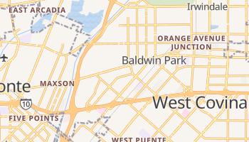 Baldwin Park, California map