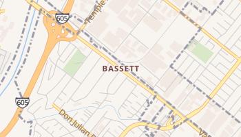 Bassett, California map