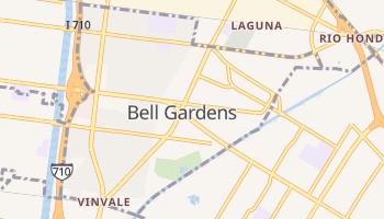 Bell Gardens, California map