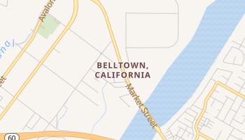 Belltown, California map
