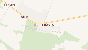 Betteravia, California map