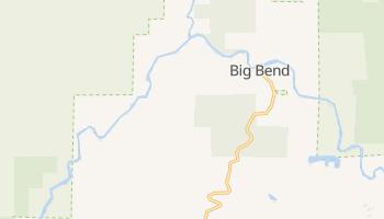 Big Bend, California map