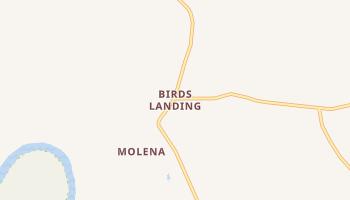Birds Landing, California map