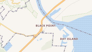 Black Point, California map