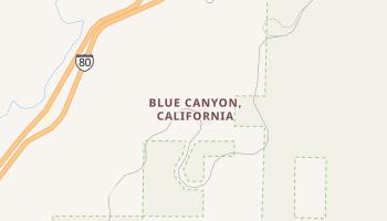 Blue Canyon, California map