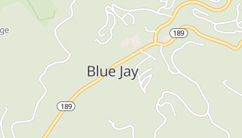 Blue Jay, California map