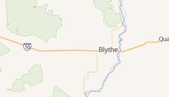 Blythe, California map