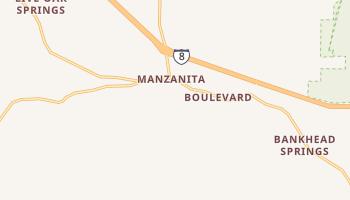 Boulevard, California map