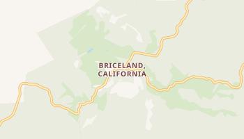 Briceland, California map