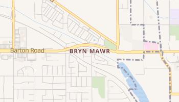 Bryn Mawr, California map
