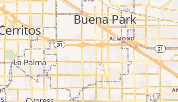 Buena Park, California map