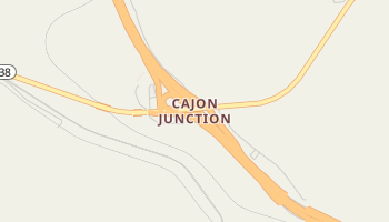 Cajon Junction, California map