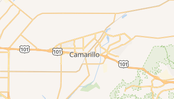 Camarillo, California map
