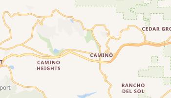 Camino, California map