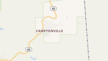 Camptonville, California map