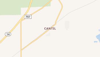 Cantil, California map