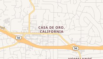 Casa de Oro, California map