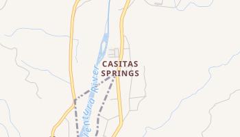 Casitas Springs, California map
