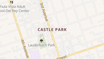 Castle Park, California map