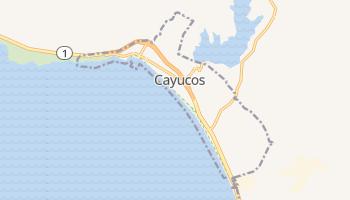 Cayucos, California map