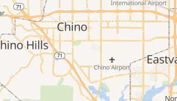 Chino, California map