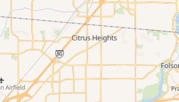 Citrus Heights, California map