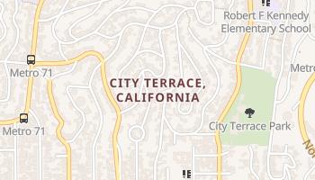 City Terrace, California map