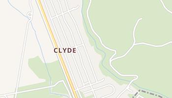 Clyde, California map