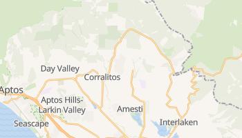 Corralitos, California map